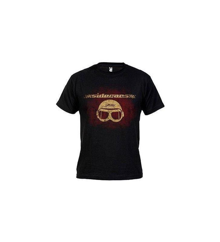 """Camiseta negra """"Gafas color"""""""