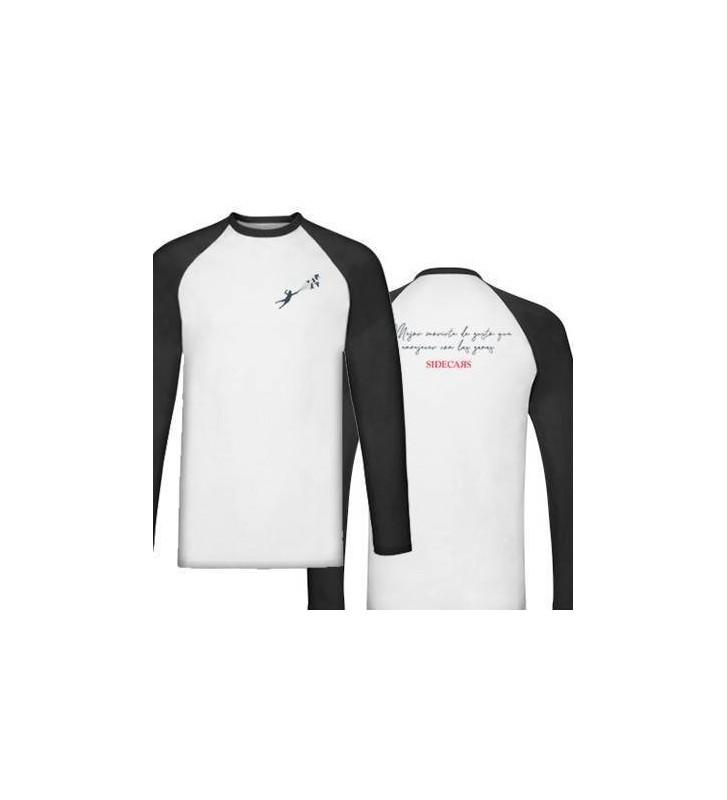 """Camiseta manga larga ranglan """"Mejor"""" + trasera"""