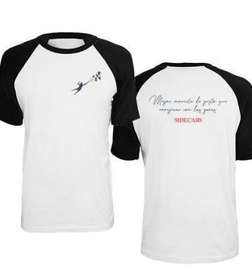 """Camiseta manga ranglan """"Mejor"""" + trasera"""